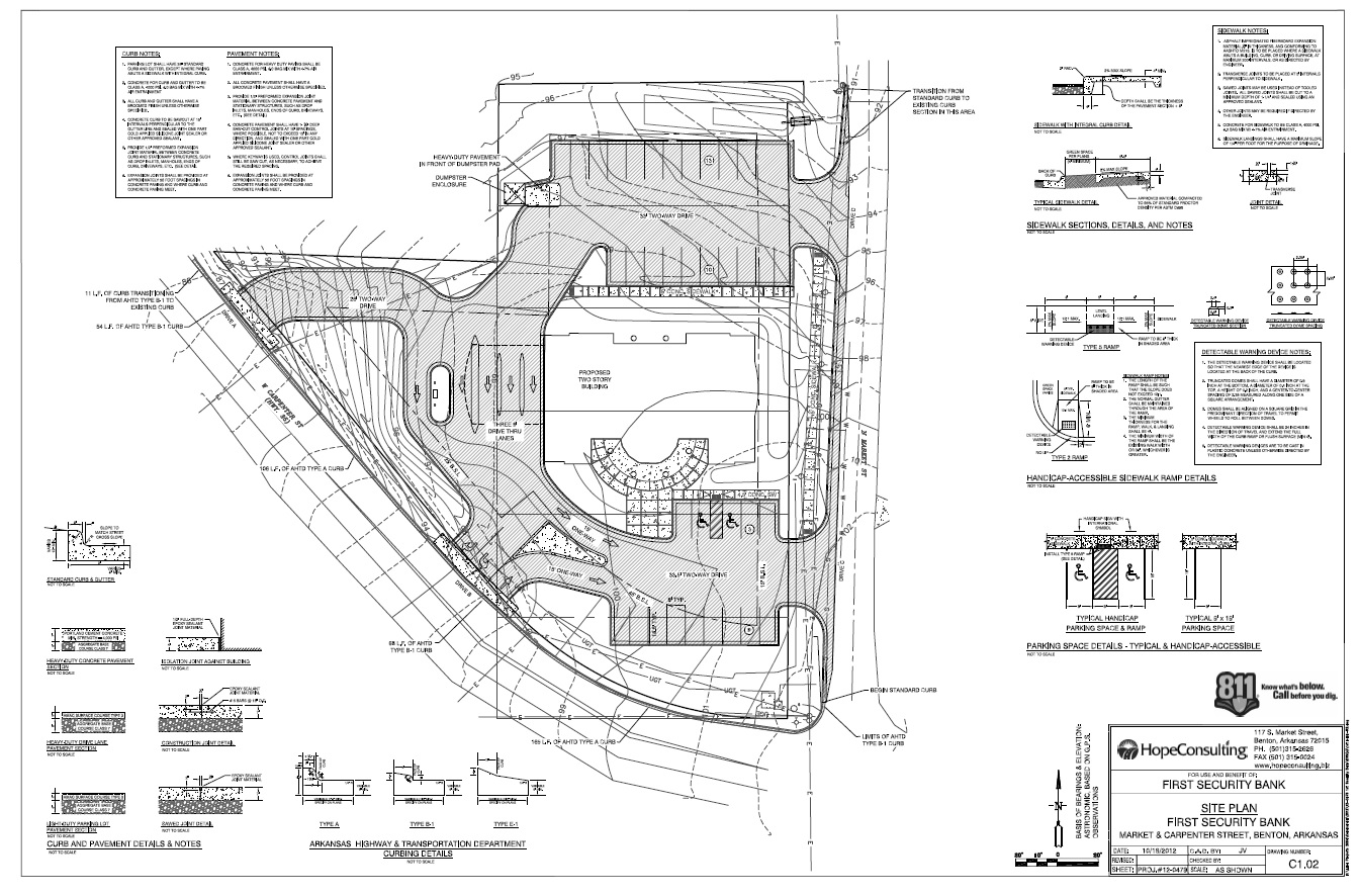 Site plan design hope consulting civil engineers land surveyors certified floodplain Site plan design