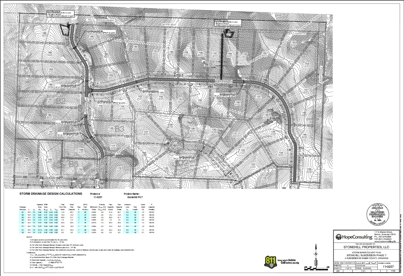 Stormwater Drainage Design| Hope Consulting: Civil Engineers